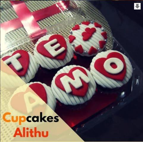 cupcakes san valentine
